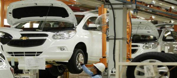 Pabrik perakitan mobil Chevrolet PT General Motors Indonesia di Bekasi.(ist)