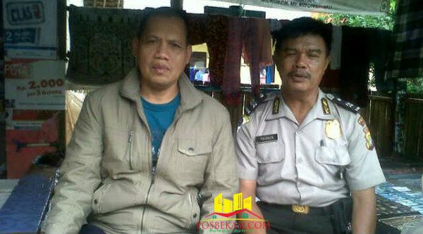 Kepala Binmaspol Lubangbuaya, Aiptu Paimun, setiap hari melakukan sambang kampung untuk bersilaturahmi dengan warga binaan.[Rad]