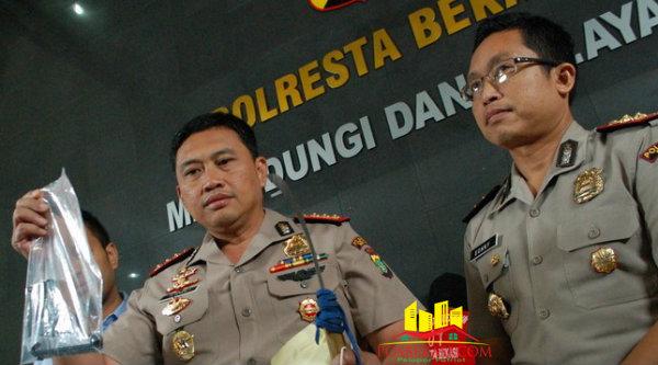 Kapolresta Bekasi, Kombes Pol Awal Chaeruddin.[Dok]