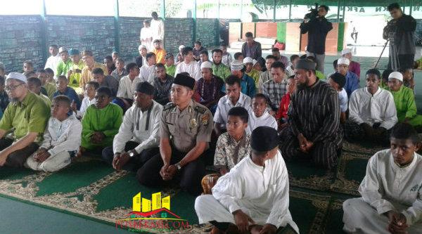 Santri Pondok Pesantren Nuu Waar, Yayasan Al-Fatih Kaafffah Nusantara, yang akan mengikuti ujian akhir.[Rad]