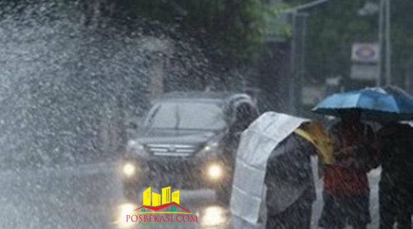 Hujan lebat guyur Bekasi.[Dok]