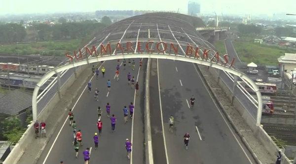 Jembatan Summarecon Bekasi.[DOK]