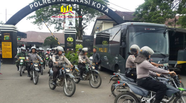 Polresta Kota Bekasi.[IDH]