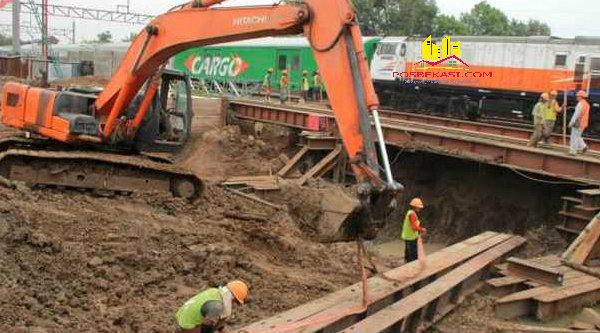 Pembangunan Underpass Tambun.[Dok]
