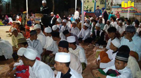 Tabligh Akbar memperingati Maulid Nabi Muhammad SAW, di Kampung Serang, Desa Tamansari, Setu.[IDH]