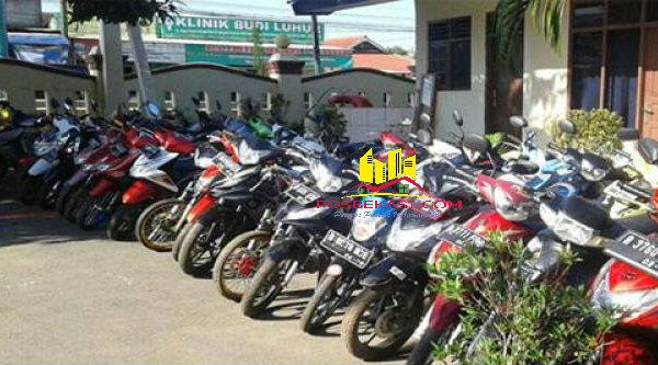 Polsek Cikarang Barat amankan 40 sepeda motor balapan liar di lingkungan kawasan MM 2100.[FER]