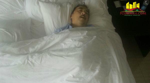 Warga Malaysia Yee Sin Hooi, ditemukan tewas di kamar Hotel Aston Imperial, Kota Bekasi, Jawa Barat, Kamis (3/3/2016).[Sah]