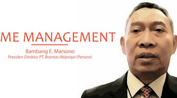 Direktur Utama PT Brantas Abipraya, Bambang Esti Marsono.
