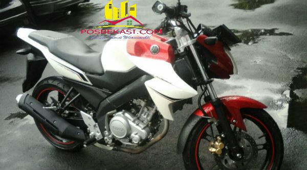 Motor Kawasaki Ninja yang dicuri pelaku.[IDH]