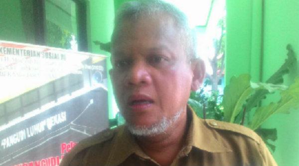 Kepala Dinas Sosial Kota Bekasi. Agus Dharma.[DOK]