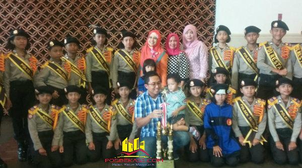 Pocil Tambelang juara I Jakarta Metropolitan Police Expo 2016.[SOF]