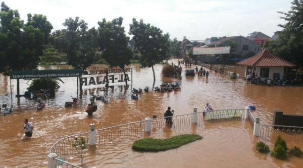 Banjir di wilayah Jatiasih.[IST]