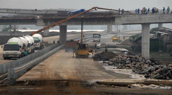 Pembangunan Tol Becakayu.[DOK]