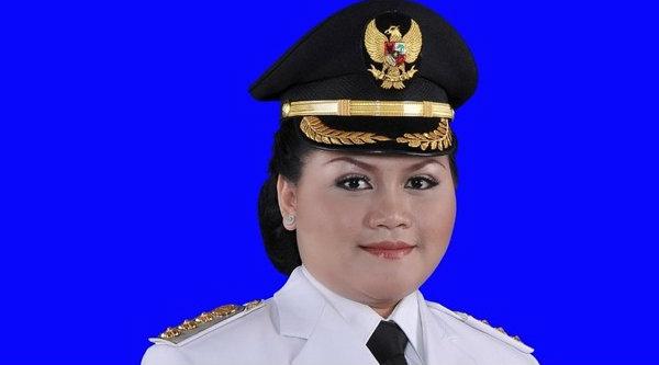 Bupati Bekasi, Neneng Hasanah Yasin.[IST]