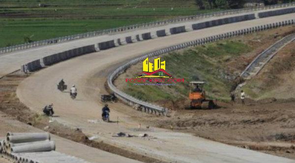 Pembangunan jalan tol.[DOK]