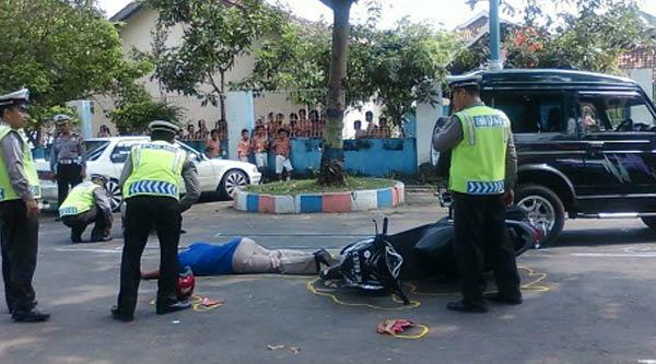 Kecelakaan lalu lintas.[DOK]