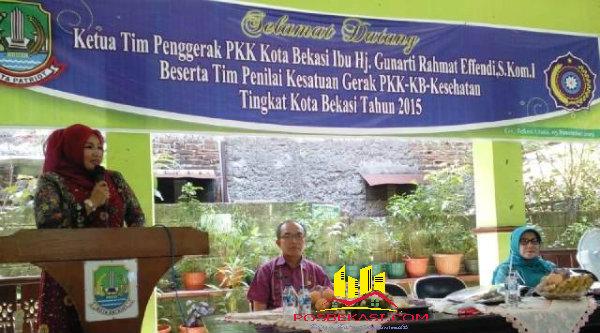 Ketua Tim PKK Kota Bekasi, Gunarti Rahmat Effendi.[IST]