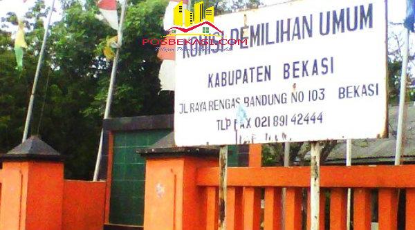 KPU Kabupaten Bekasi.[DOK]