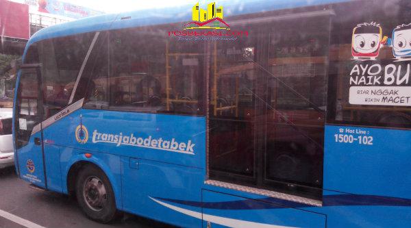 Transjabodatabek yang kini melintasi Kota Bekasi - Jakarta.[YAN]