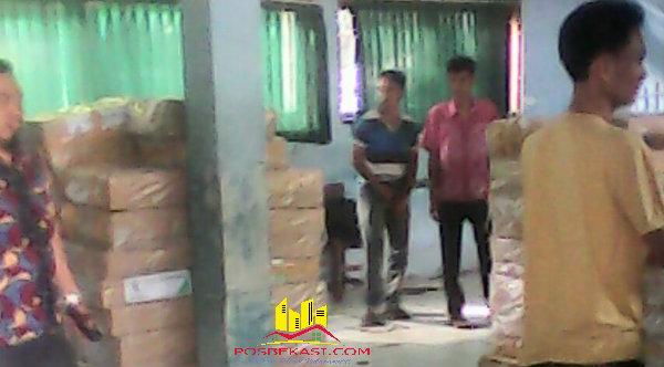 Lembaran UN untuk SMP di Kecamatan Setu sederajat disimpan di SMPN1 dan MTs Negeri.[IDH]