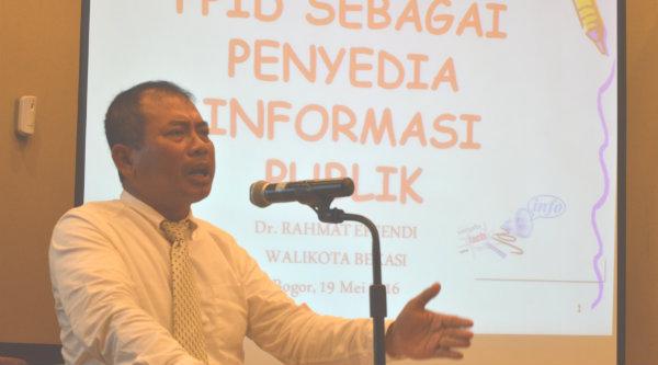 Walikota Bekasi H Rahmat Effendi.[IST]
