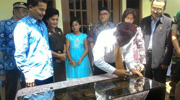 Walikota Bekasi Rahmat Effendi meresmikan Kantor Sekretariat Orgada.[IDH]