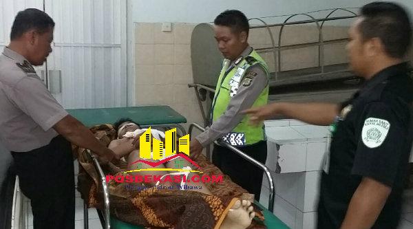 MR korban tawuran yang mengakibatkan jiwa pelajar SMPN 3 Tambun itu tidak dapat tertolong.[IDH]