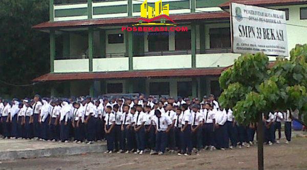 Siswa SMPN 33 Kota Bekasi.[IMA]