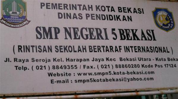 SMPN 5 Kota Bekasi