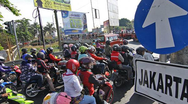 Jalur Kalimalang Bekasi.[DOK]