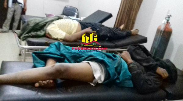 Korban tabrak lari, Ardi dan Aryo Bintoro tewas di tikungan rawan Cikarageman, Setu, Kabupaten Bekasi.[RAD]