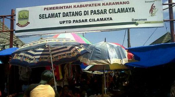 Pasar Cimalaya Karawang.[DOK]