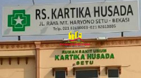 RS Kartika Husada, Jalan MT Haryono, Desa Burangkeng, Kecmatan Setu, Kabupaten Bekasi.[SOF]