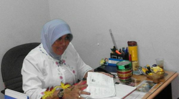 PPID Dinkes Kota Bekasi Bety Sumiati.[IDH]