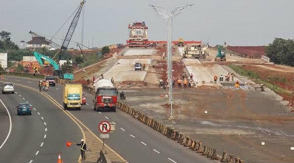 Pembangunan infrastruktur jalan.[DOK]