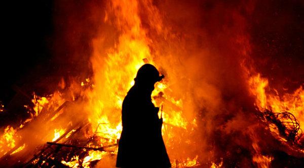 Petugas pemadam kebakaran.[DOK]