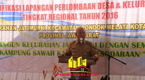 Walikota Bekasi, Rahmat Effendi.[IDH]