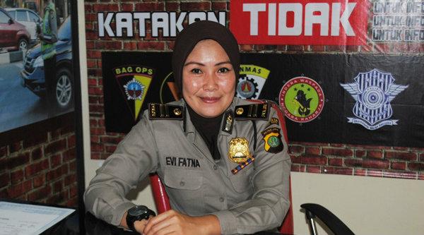 Kasubbag Humas Polresta Bekasi Kota, Iptu Evi Fatna.[IST]
