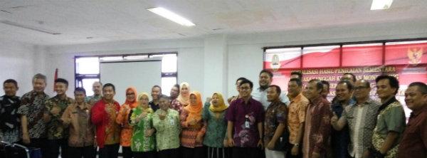 Kegiatan monev penerapan UU Keterbukaan Informasi Publik oleh Pemerintah Kabupaten/Kota di Jawa Barat bertempat di Gedung Korpri, Turangga, Bandung.[IST]