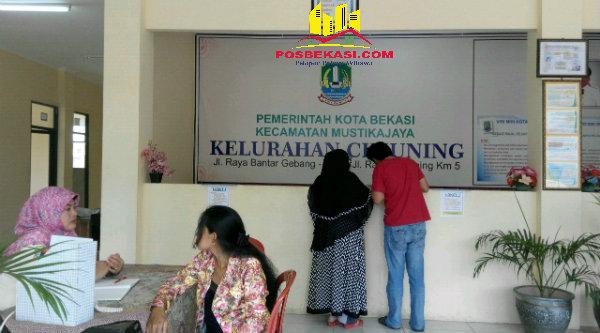 Kantor Kelurahan Cimuning, Mustika Jaya, Kota Bekasi.[RAD]