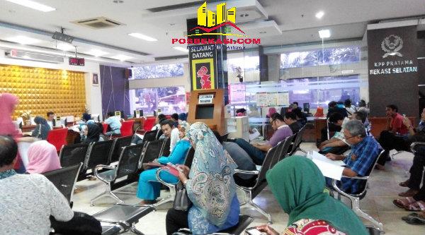 Kantor Pelayanan Pajak (KPP) Pratama Bekasi Selatan, Jalan Cut Meutia, Kota Bekasi.[SOF]