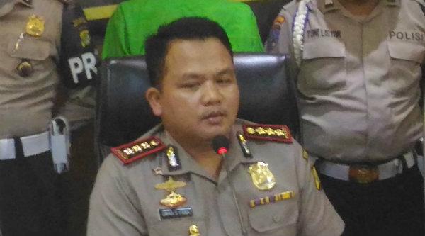 Kapolres Metro Bekasi Kota Kombes Pol Umar Surya Fana.[DOK]