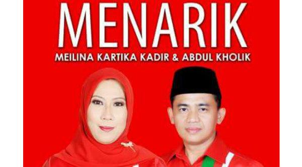 Pasangan Meilina Kartika Kadir-Abdul Kholik (MENARIK)