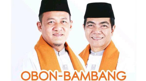 Pasangan Obon Tabroni-Bambang Sumaryono (OBAMA)