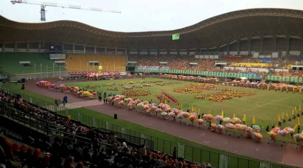 Stadion Patriot Chandrabaga.[DOK]