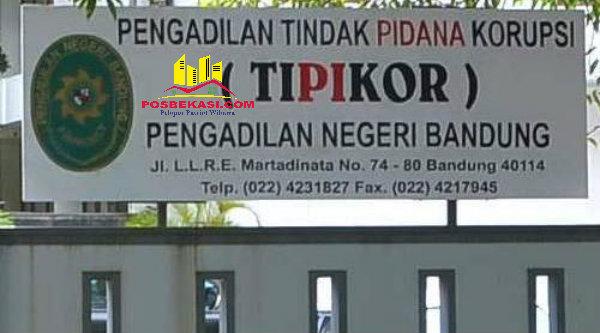 Pengadilan Tipikor Bandung.[DOK]