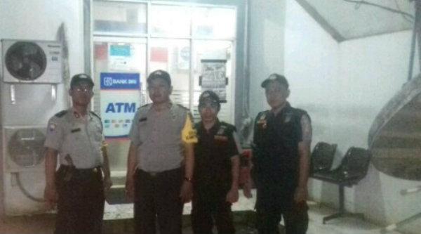 Operasi Cipkon pantau sejumlah ATM.[HSB]