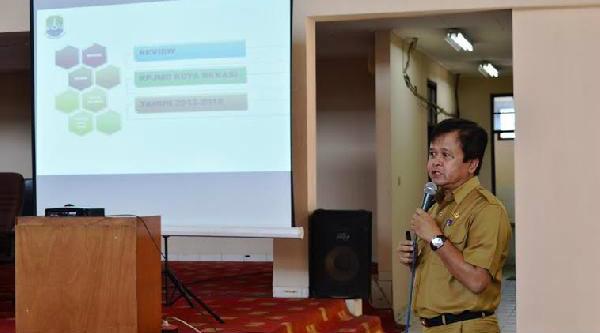Kepala Bapeda Kota Bekasi, Jumhana Luthfi.[IST]
