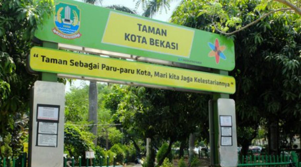 Taman Kota Bekasi.[DOK]