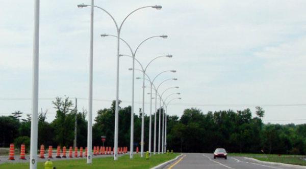 Tiang lampu penerangan jalan umum (PJU).[IST]